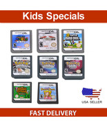 All Super Mario Bros Version + Pokemon Game Card For Nintendo 3DS DSI DS XL - $14.99