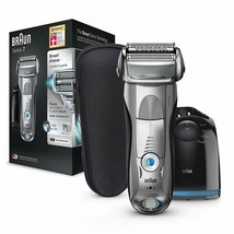 Braun Series 7 7898 cc Shaver Electric Man With Station Of Cleaning - $581.22