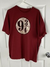 Universal Studios The Wizarding World of Harry Potter T-Shirt 9 3/4 Size 2XL - $16.82