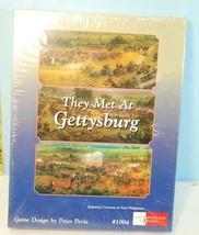 They Met at Gettysburg Civil War Game Spearhead Games 1996 Shrink SW - $59.38