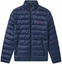 POLO RALPH LAUREN Men's NAVY Lightweight Packable Down Jacket Bleeker S M 2X NEW - $199.99
