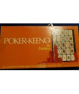 Poker-Keeno Board Game by Cadaco - $8.60