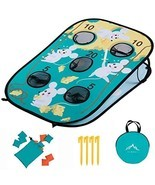 Himal Corn-Hole-Boards with Bean-Bag-Toss-Game Collapsible Portable 5 Holes Corn - $50.40