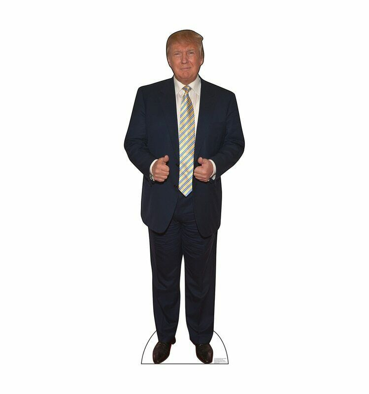 Primary image for DONALD TRUMP President Lifesize Outdoor Cutout Standups Standee Life Size