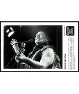 Lot of (2) 1980s WILLIE NELSON Vintage Original Photos OUTLAW COUNTRY SI... - $16.97