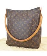 Authentic LOUIS VUITTON Looping GM Monogram Shoulder Tote Bag Purse #38253 - $549.00