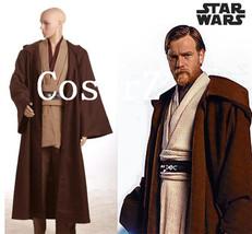 Star Wars Costume Jedi Master Obi Wan/Ben Kenobi Cosplay Tunic Star Wars... - $125.00