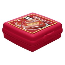 Cars 3 Lunchbox Embossed Sandwich Container Lightning McQueen - €10,99 EUR