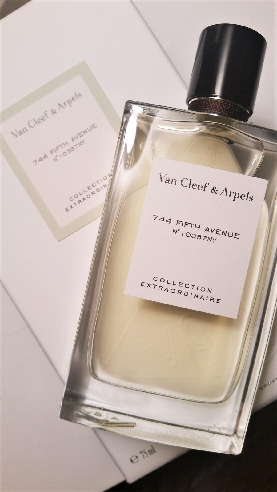 744 Fifth Avenue by VAN CLEEF ARPEL 5ml TRAVEL SPRAY NYC EXCLUSIVE Femme Parfum