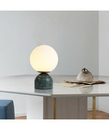 Nordic Modern Flos Marble Base Glass Shade Table/ Desk Lamp G9 Reading L... - $152.56