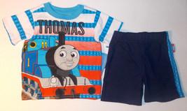 Thomas & Friends Infant Boys 2pc T-Shirt & Shorts Set Size 12M NWT - $10.08