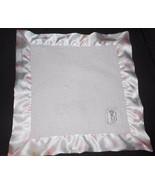 Little Giraffe Baby Security Blanket Lovey Pink White Polka Dot Satin - $24.63