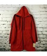 Michael Kors MK Men's Large Hooded Logo Spellout Sleeves Windbreaker Jac... - $148.49