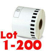 LOT 1-200Rolls DK-2205 Continuous Label Compatible Brother® Option of CA... - $4.60+