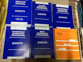 2002 Dodge Dakota Truck Service Repair Shop Manual Set W Diagnostics + Recalls - $296.99