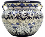 90385 ceramic talavera mexican hand painted planters 1 size1 thumb155 crop