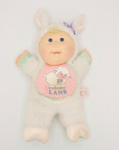 "13"" Cabbage Patch Babyland Lamb Doll Plush Body Vinyl Face Vintage No So... - $14.95"
