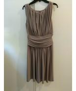 Boston Proper Pleated Bodice Cumberbund Dress Size 4 Cocktail Party Pre-... - $29.65