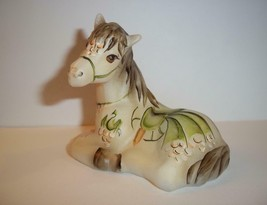 Fenton Glass Dragon Carousel Horse Pony Figurine FGS Excl Ltd Ed #6/12 M... - $183.82