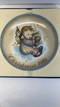 Schmid Christmas 1984 Gift From Heaven Plate 1984 - $9.85