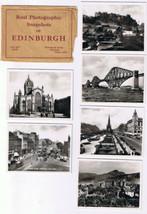 RPPC Snapshots of Edinburgh Scotland 6 Photos - $5.35