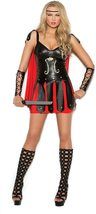 Hot Spot Women's Sexy Gladiator Adult Role Play Costume