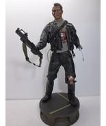 "Terminator 2 T-800 Battle Damaged Premium Format 21"" Figure - Sideshow 8... - $336.69"