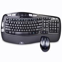 Logitech MK570 Comfort Wave Wireless Keyboard & Laser Mouse Combo w/USB ... - $49.30