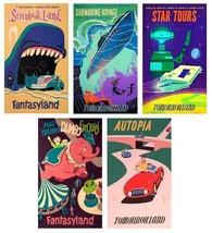 Disneyland Magnets (set of 5) - $19.99