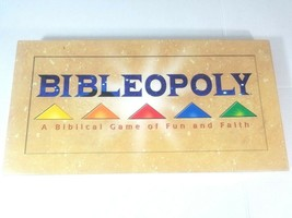 Bibleopoly Biblical Board Game Late For The Sky Real Estate Trading Ages... - $19.39