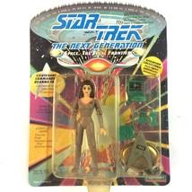 Star Trek TNG Lt Commander Deanna Troi Action Figure 1992 Playmates Sealed - $9.85