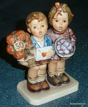 """The Love Lives On"" Goebel Hummel Jubilee Collectible 50th Anniversary F... - $150.34"