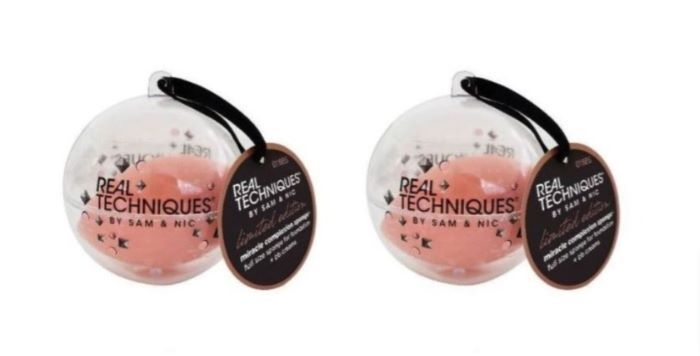 New 2 Real Techniques Miracle Complexion Makeup Sponges & Storage Cases - $12.99