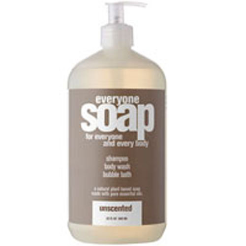 Everyone Soap, Unscented 32 fl oz by EO Products