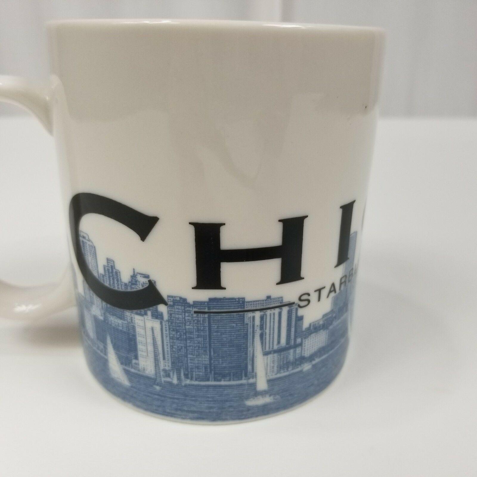 Starbucks Chicago Skyline Series Mug Coffee Cup Tea Large Windy City Barista image 4