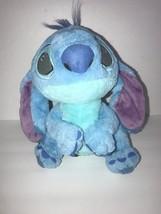"Disney Parks Stitch Plush Light Colored Stuffed Animal Soft Toy 10"" - $26.03"