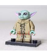 GROGU Baby YODA The CHILD Star Wars Minifigure +Stand The Mandalorian Ma... - $6.00