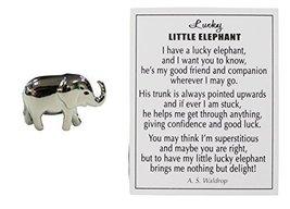 Lucky Little Elephant Charm with Story Card! - $3.45