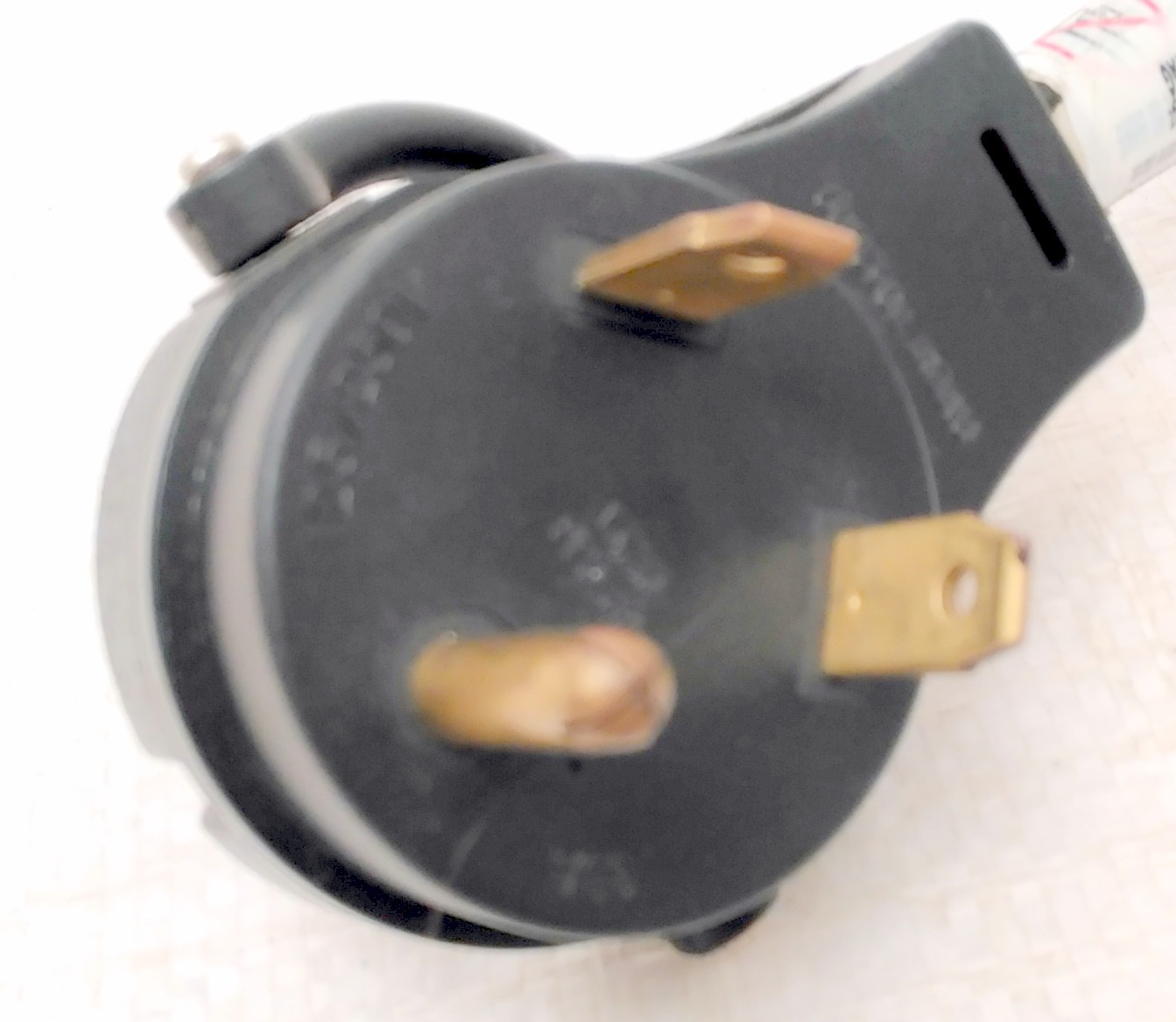 Coleman Cable 095449008 14/3 STW 30 to 15-Amp RV Adapter Extension Cord with Lt