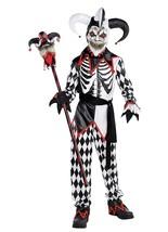 Halloween costume Sinister Jester Child Clown Costume Size medium 8-10 - $89.06