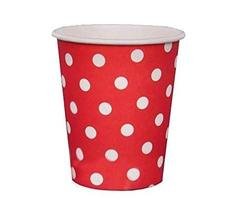 PANDA SUPERSTORE Disposable Birthday Party Thick Paper Cups&Wedding Party Suppli