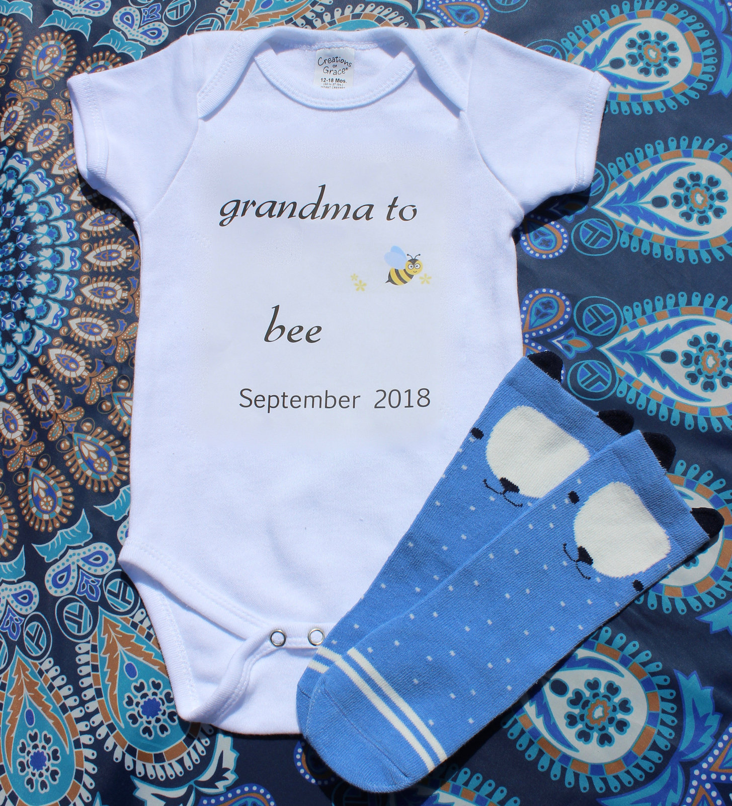e3870790e Pregnancy Announcement Grandma to bee baby and 50 similar items. Il  fullxfull.1507010264 1z43