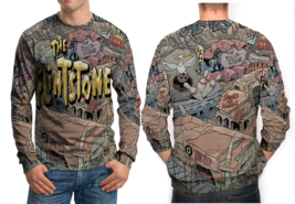 The Flintstones 3D Print Sweatshirt For Men - $29.20