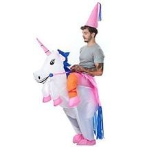 Adult Costume Inflatable Ride Me Carry On Animal Unicorn Pony Pegasus One Size  - £36.55 GBP