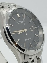 Citizen Eco Drive e11-s083311 Men's Watch Stainless Steel Band Sapphire Crystal - $360.00