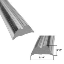 "Clear Shower Door Replacement Spline 9/16"" by 5/16"" - 18 ft Roll - $29.65"