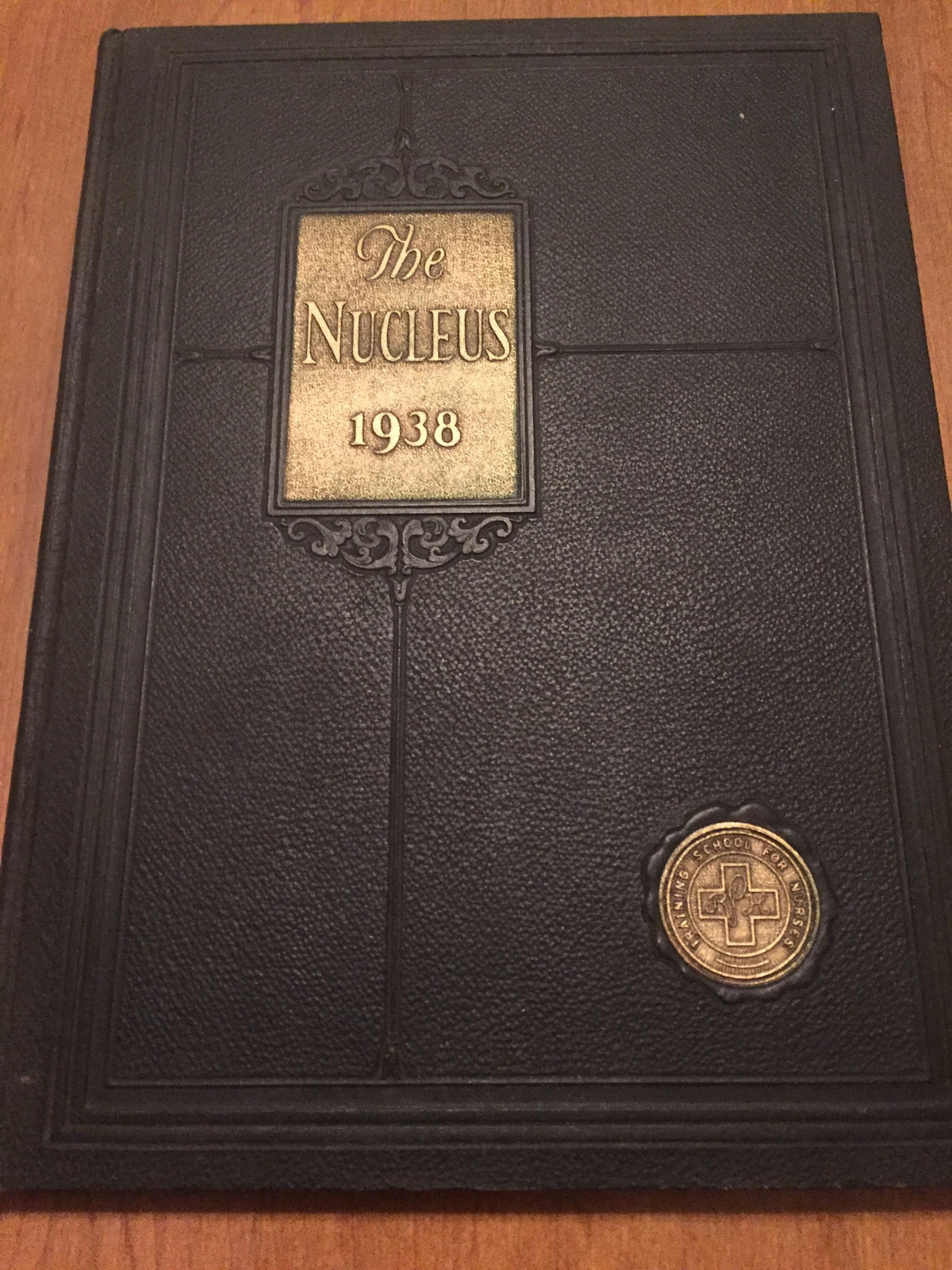 The Nucleus 1938 yearbook drh112