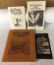 Vtg 1980 South Dakota Sportsman's Atlas Public Lands & Waters Guide Game... - $19.79
