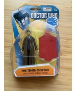 """Doctor Dr Who Wave Series 3 The Tenth Doctor 3 3/4"""" Articulated Action F... - $14.03"""