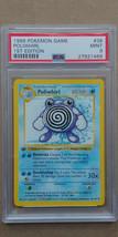 Poliwhirl 38/102 PSA 9 MINT 1999 Pokemon 1st Edition Base Set Shadowless - $44.99